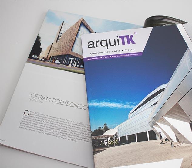 The CETRAM POLITECTINICO published by Arquitk magazine : SLOT