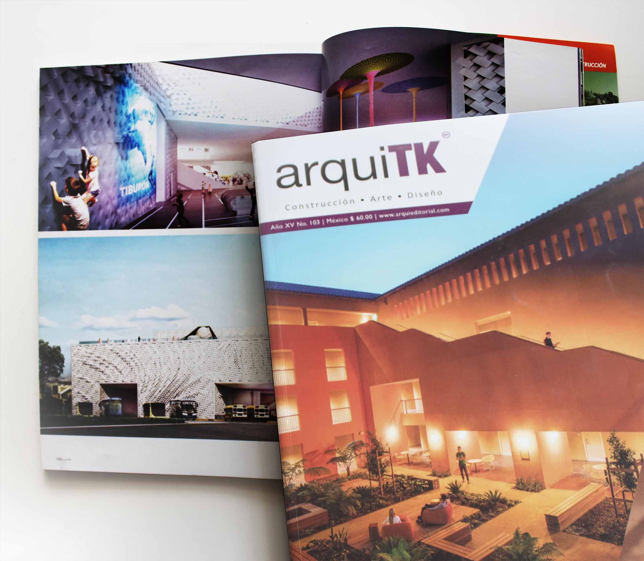 SLOT has been published by Arquitk magazine : SLOT